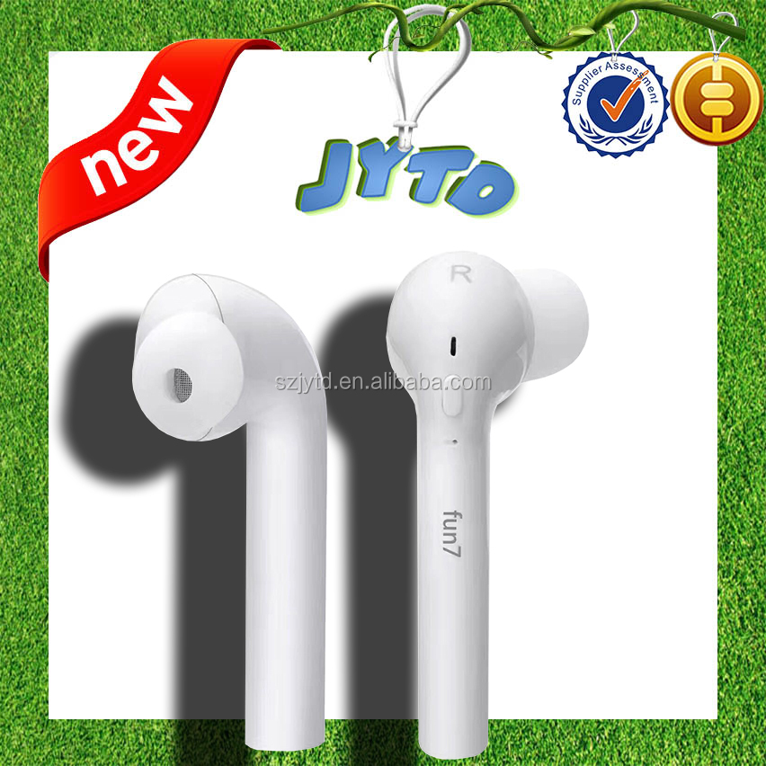 Bluetooth earbud for iphone 7 slim headphone portable earset sport bluetooth earphone wireless