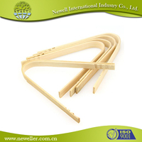 Tea kitchen bamboo sugar tongs for meat