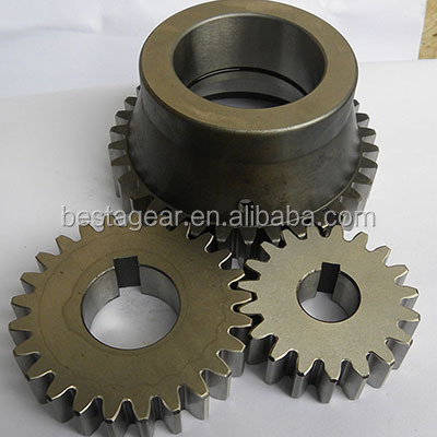Cheap high precision steel spur gear customized from large metal gear manufacturer in China