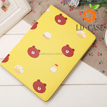 Cute cartoon Pu Leather Case for ipad mini 5