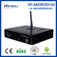 Best products android dvbs2 hd satellite receiver free to air set top box