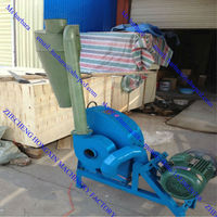 Factory manufacture mobile grain grinder/grass grinder/rice mill machine