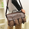 Cotton Canvas Cross Body Laptop Messenger Bag Men's Tote Bag
