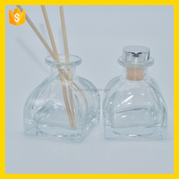 car diffuser bottle, aroma reed diffuser glass bottles, glass reed diffuser bottles with metal lids