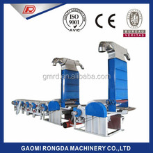 Textile Hosiery knitted fabric waste recycling machinery for Open end yarn spinning