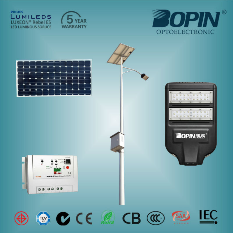 battery powered led off road light bar, Solar LED street lights