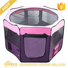 Oxford Portable folding Pop Up Waterproof Dog Playpen Exercise Kennel pet tent