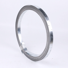 Q235 material punched hole steel strap / steel packing band