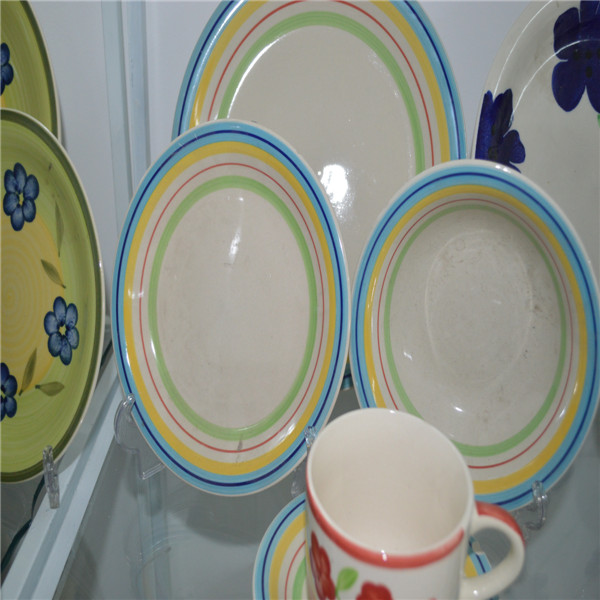 handpaihand painted chinese household color dinnerware sets beautiful flower design as you requst