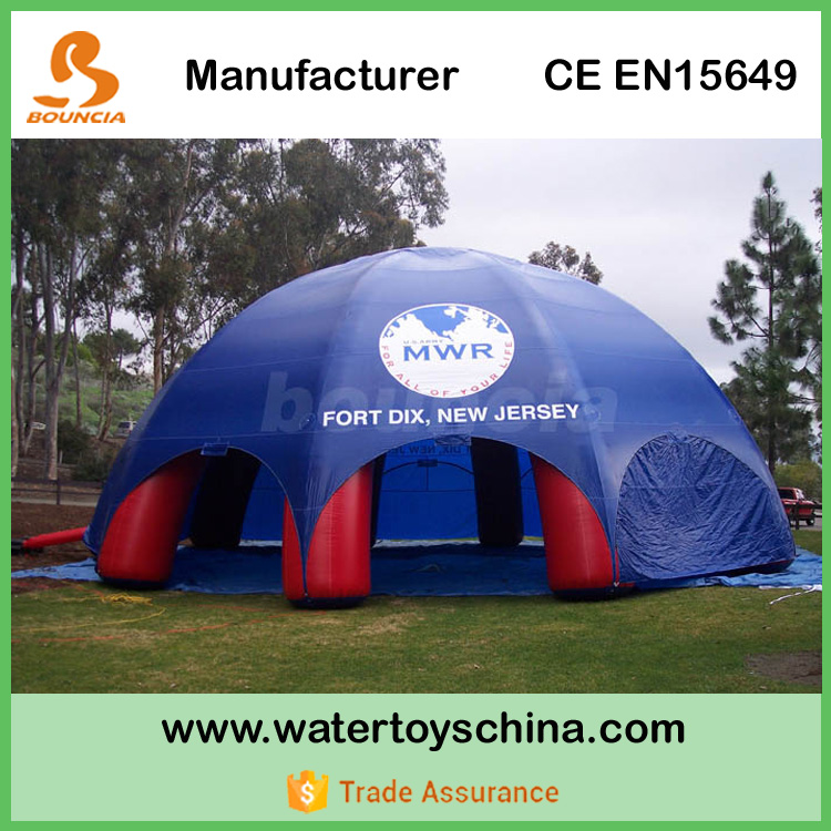 8m-12m Diameter Inflatable Lawn Tent With Durable PVC Tarpaulin