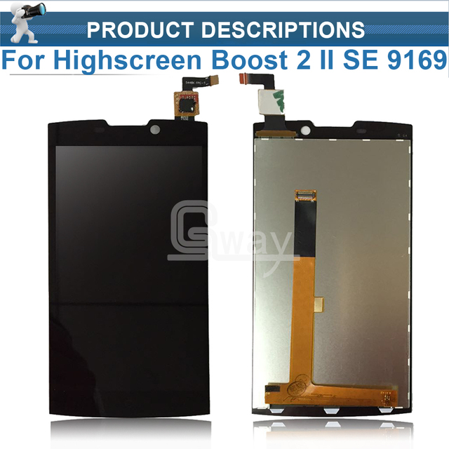 Wholesale Original Replacement For Highscreen boost 2 se 9169 9267 innos D10 Full Lcd Display Touch Screen Digitizer Assembly