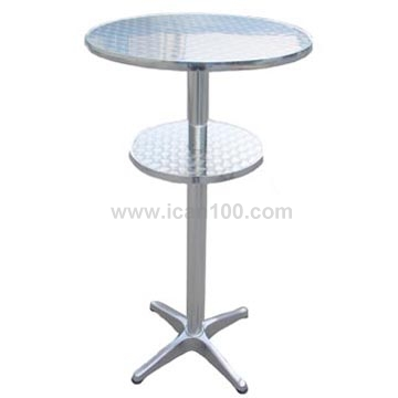 Best selling party high top stainless steel highboy cocktail table(DT-06174R)