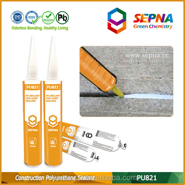 China factory sealant one component easy application weather resistance polyurethane joint compound caulk glue