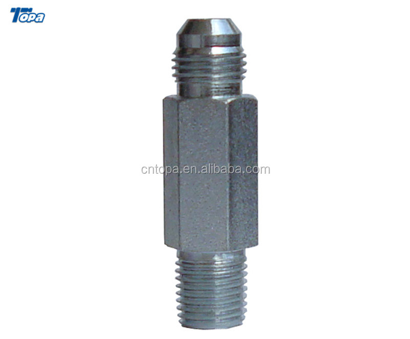 2404L BSP Hydraulic Swage Concentric Reducer brass adapter