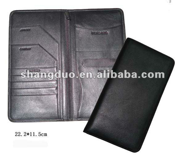 100% Genuine Leather Passport Book Covers