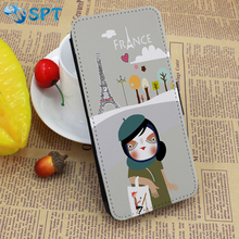 DIY design leather phone case for iphone5S