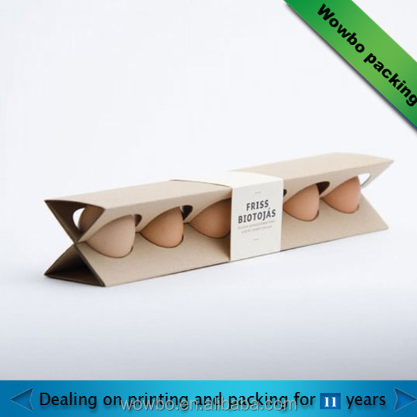 customized eggs paper tray / holder protection