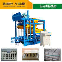 QT4-25 Simple cement concrete small automatic block making machine to export