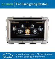 A8 Chipset 3G WiFi 1080P Car DVD Player For Ssangyong Rexton With GPS Radio Bluetooth iPod S100 1G CPU Free Map