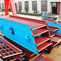 China 4 deck vibrating screen for asphalt rotary vibratingscreen machine coal processing price