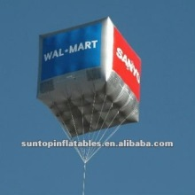advertising helium inflatable square balloon