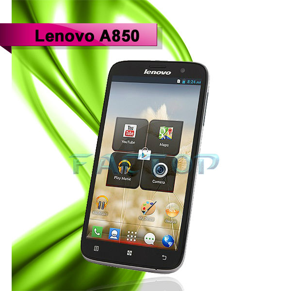 hot Original Lenovo A850 Smart phone MTK6582m Quad Core 5.5 inch Android 4.2 Phone GPS 1GB RAM 4GB ROM