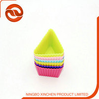 Triangle shaped cupcake / Silicone material cupcake / Muffin cup molds