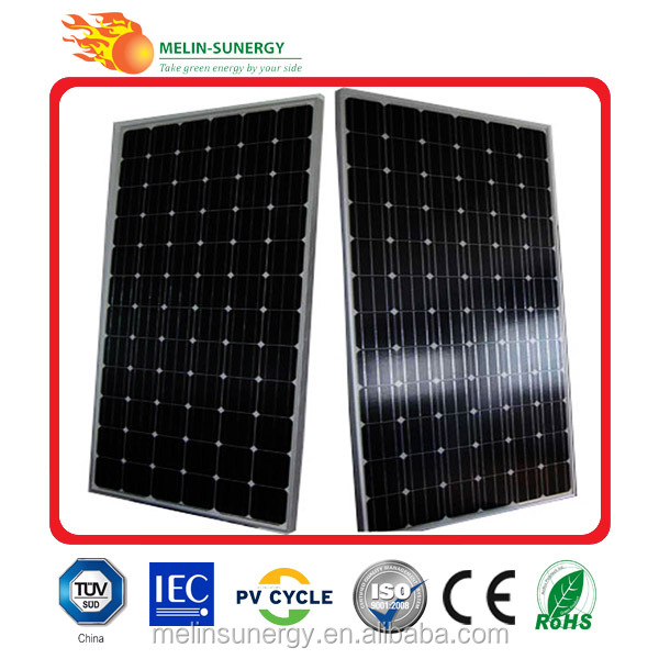 300w Pv Mono Solar Panel All Black Solar Module