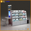 customized wholesale cosmetic display stand for revlon manufacturer with lights
