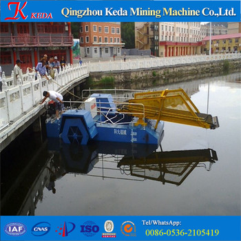KEDA Top Quality Aquatic Weed Cutting Dredger Machine For Sale