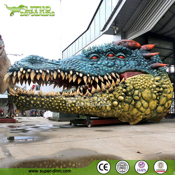 Customer Made Giant Size Moving Animals Crocodile