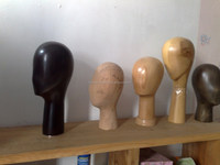 wooden mannequin heads for boutique