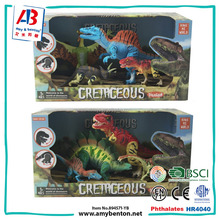 Simulation china import toys modern dinosaur toy with movable joints