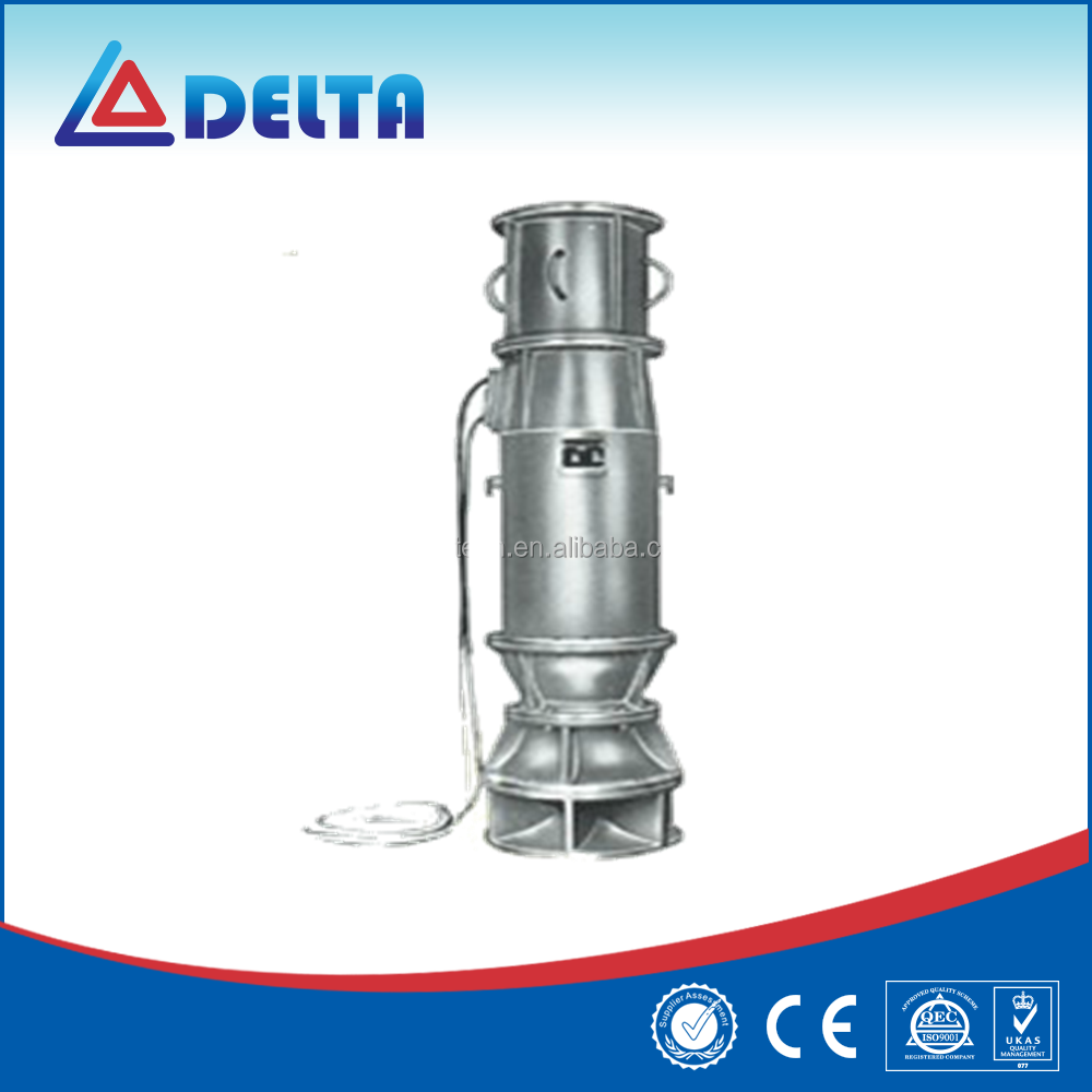 Submersible electric QZ high flow centrifugal pump