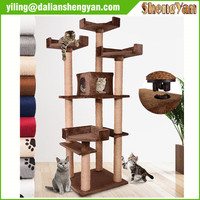 Fun furniture, condos and climbing gyms cat tree for cats and kittens.