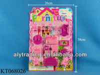 Aly Funny Plastic Furniture Set Mainan/Houseware Toy