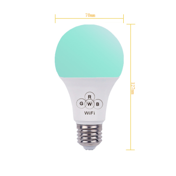 hot selling product Wi-Fi led light bulb remote control led color ball light  6.5W china factory lamp led bulb for home
