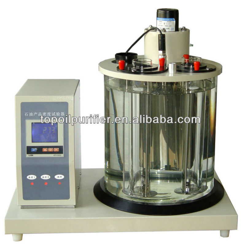 Oil kinematic viscometer (VST-2000), LCD display, auto storage and printing results