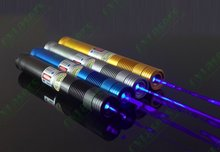 OXLasers OX-BL8 445nm burning focusable 3000mW Blue laser pointer with 5 star caps light cigars extream powerful