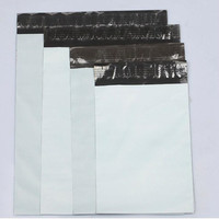 Plastic courier postage mail carrier bag grey postall mailing bags