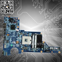 Original wholesale DA0R13MB6E0 Laptop Intel motherboard for HP Pavilion G4 G6 G7 636373-001 HM65 DDR3 good quality
