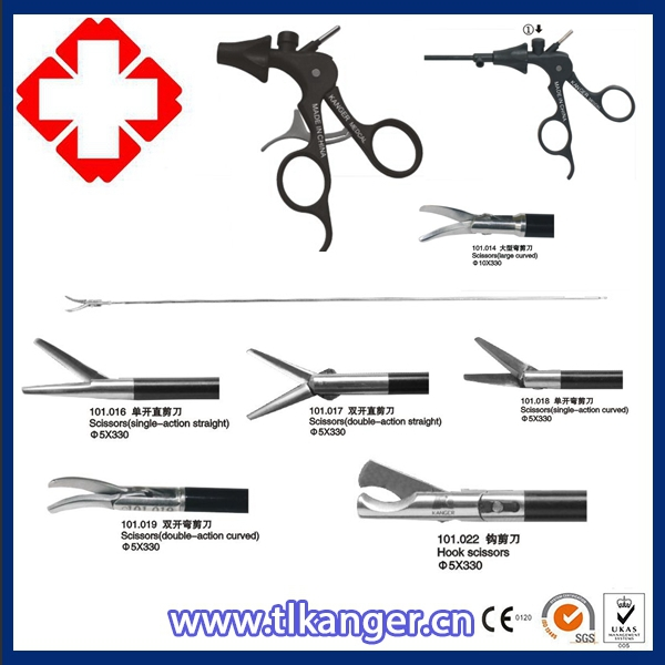 Names of Surgical instrument/Laparoscopic scissors