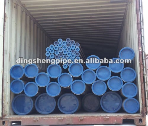 A333 Gr.B seamless mild steel pipe