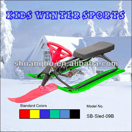 Hot Selling Snowscoot with Steering for Christmas