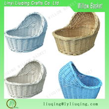 Factory wholesale Wicker baby pram basket/Bassinet wicker baby basket/Baby moses baskets