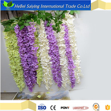 landscape silk flower heads artificial hydrangea