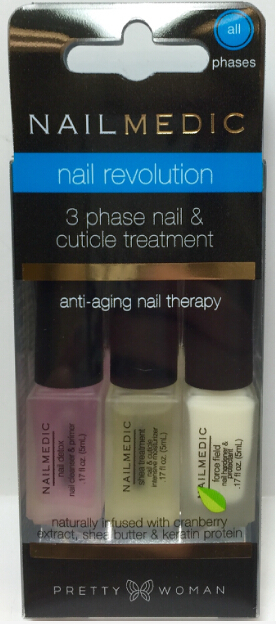 Nail and cuticle treatment that detoxify, nourish and protect damage-prone cuticles and nails, optimize nail growth