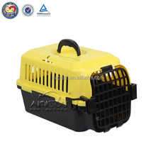 Aimigou wholesale plastic dog carrier & dog crate trolley pet carrier