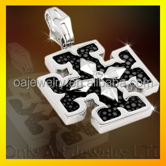 Wholesale cheap DIY jewelry custom pendant 925 sterling sliver