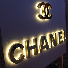 stainless steel alphabet letters factory price backlit led channel letter sign with high quality neon letters